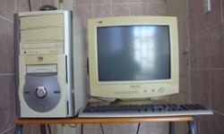 PC for sale: PC box with cd drive and stiffy drive and