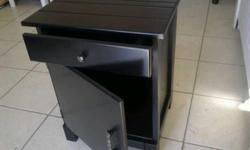 PEDESTAL WITH DOOR AND DRAWER FOR SALE AT ONLY