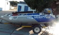 PENCIL DUCK NOT SEA WORTHY TRAILER NOT LICENSED 15 K -