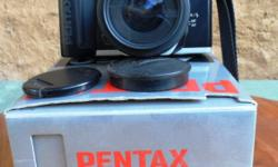 Pentax 35mm, MZ 50 Camera originally boxed like new