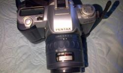 Pentax MZ50 with strap and bag SMC Pentax-FA