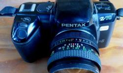 Pentax Z70 35mm, Electronic full auto Film Camera.