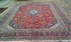 Beskrywing stunning well looked after persian carpet.