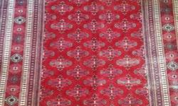 HAND-KNOTTED Persian carpets - probably from the