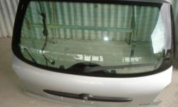 2 door peugeot 206 complete tailgate with glass and