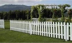 We manufacture and install picket fences to any height,