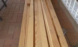 I have Pine beams for sale. There is: 15 lengths of 6m