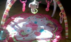 Selling my play mat, its got 5 toys with it, and its