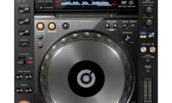Pioneer's flagship CDJ player, the CDJ-2000nexus,