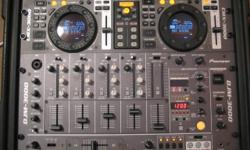 Pioneer CMX-3000 Dual CD Player and DJM-3000 Mixer in