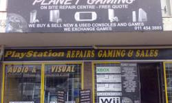 Beskrywing Planet Gaming - onsite repair centre - Free