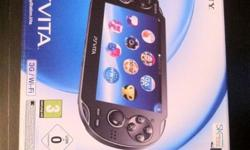 Playstation Vita (PSV) - 3G and Wifi - Brand New -