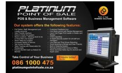 Platinum Point of Sale specializes in Point of Sale