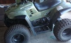 Great quad in good condition auto electric start