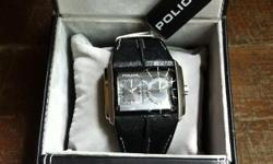POLICE WATCH - BRAND NEW IN BOX. SEE PICS. R 800