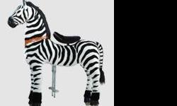 Large Pony Cycle - Zebra or Giraffe. For kids or adults