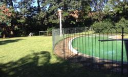 22 x 2m panels and two gates . Pool fencing to be