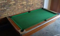 Beskrywing Soort: Entertainment - Pool Table Non coin
