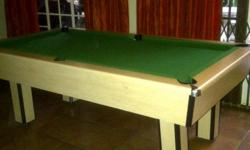 Beskrywing Soort: POOL TABLE Excellent condition Ball