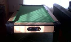 Soort: pool table This table is ideal for kids and the