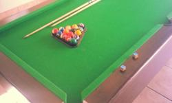 Soort: Sports Soort: Pool Urgent sale. Slate top pool