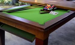 Beskrywing Soort: Furniture Soort: Pool Table Solid