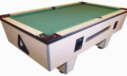 Beskrywing We offer pool tables and arcade machines on