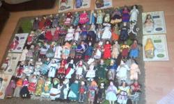 80 DOLLS of the World is a wonderful collection of 100%