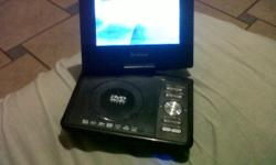 Portable super sonic dvd player two weeks old still