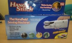 Brand new held hand sewing machines for sale. For more
