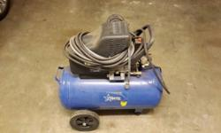 Portable spray painting air compressor for sale. 50