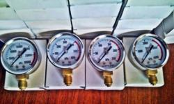 PORTAPAK GAUGES OXY & ACETY NEW R600.00 PER SET OR