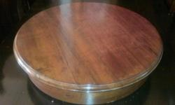 For use on dining room table to serve food in the