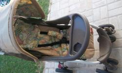 Chellino pram and a car seat for sale. Good condition.