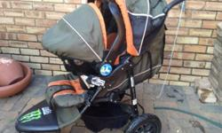 I have got a Chelinno pram system(with carry seat/car