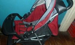 Excellent condition pram Maroon and black R350 Please