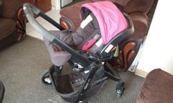 Graco combo pram, it is a pram a car chair and a
