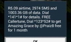 20 gig prepaid mtn data for sale,doesn't expire