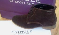 Pringle boot for sale worn it three times christmas,
