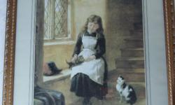 Print - Playing with Kittens - Robert Collinson (