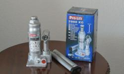 We have a batch of Pro-Lift Hydraulic Bottle Jacks