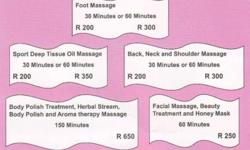 Professional Thai Massage & Spa We Offer for Ladies &