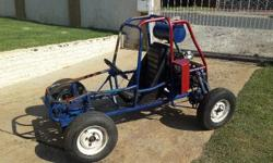go cart with Suzuki DR 500 engine , needs rings and
