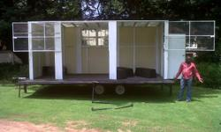 Promotional and event gig rig trailers which can be