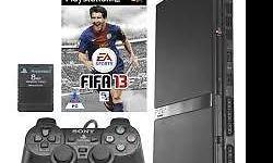 I have a PS2 Console with controller and FIFA 13 game.