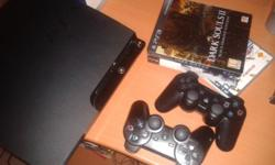 Selling my PS3 with all the cables,2 controls and a few