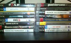 Hi. i have a ps3 for sale with 16 games,all the cables