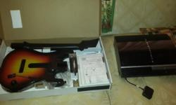 Selling off my PS3 500gb console with games: guitar