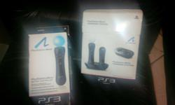 #GAMES & ACCESSORIES Ps3 Move controllers_ R200 each!!
