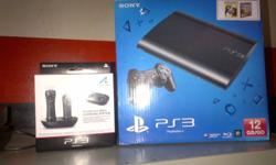 Ps3 bundle for sale all as on picture included!!! Plus